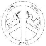 Kruis En Hart Kleurplaat Museum Voor Vrede En Geweldloosheid